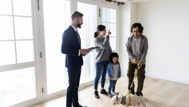 2021 real estate market trends to watch out for, family buying new construction