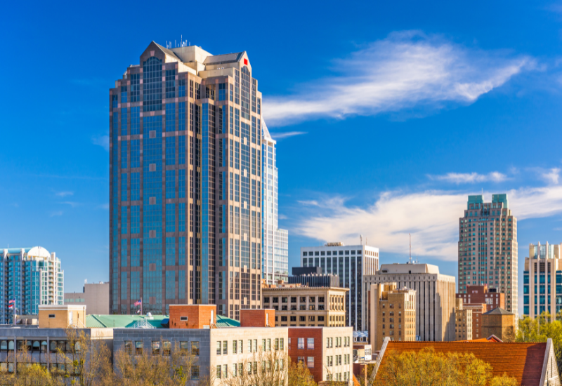 best places to rent - raleigh north carolina