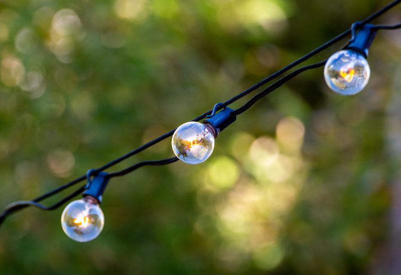 Backyard Updates Homebuyers are Looking For - lighting