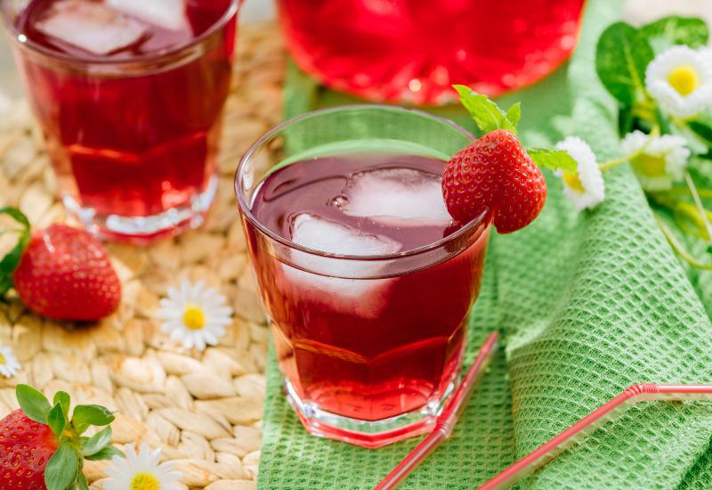 strawberry iced tea recipes