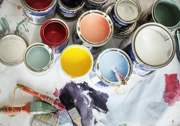Paint Colors for the Living Room, Kitchen, & More